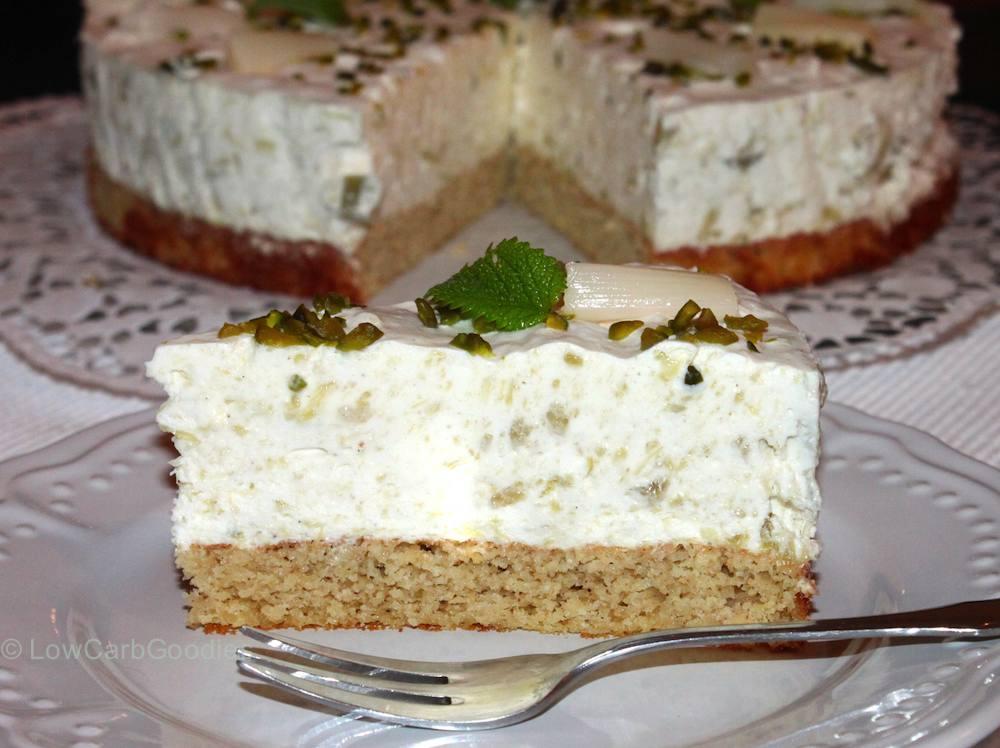 Rhabarbercreme-Torte